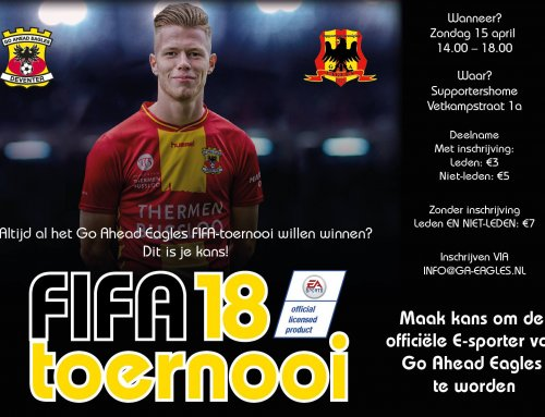 FIFA-toernooi in supportershome