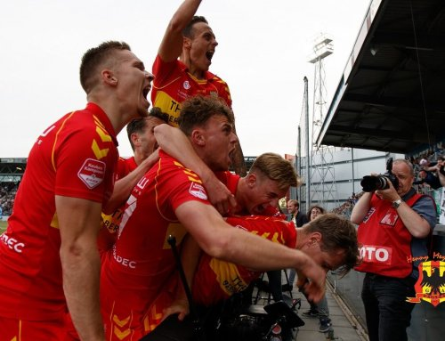 Go Ahead Eagles in dying seconds naar finale play-offs