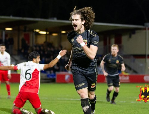 Go Ahead Eagles winnend de winterstop in