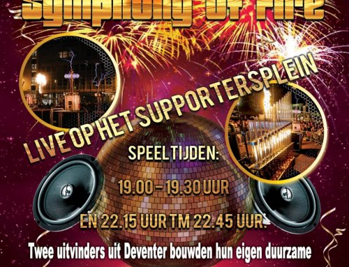 Symphony of Fire 6 december live op het supportersplein