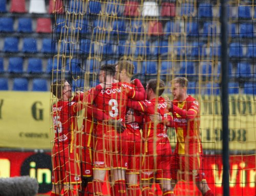 Knappe overwinning Go Ahead Eagles in Breda